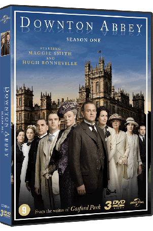 Dvd Downton Abbey seizoen 1
