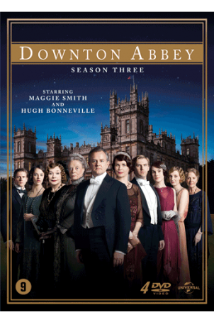 Downton Abbey Seizoen 3 (4 dvd's)
