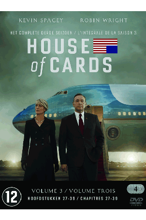 Dvd House of Cards seizoen 3