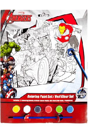 Avengers Verf kleur set