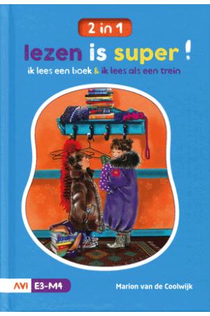 Lezen is Super AVI E3-M4 ik lees een boek & Ik lees als een trein