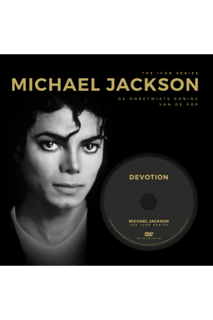 The Icon Series: Michael Jackson (boek+dvd)