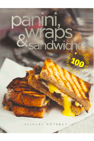 Culinary Notebooks Panini, wraps & sandwiches