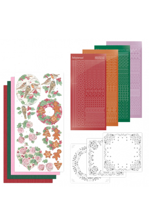 Dot and do 136 Christmas Florals