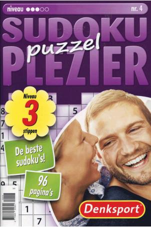 Puzzelplezier sudoku 3 ster nr.4