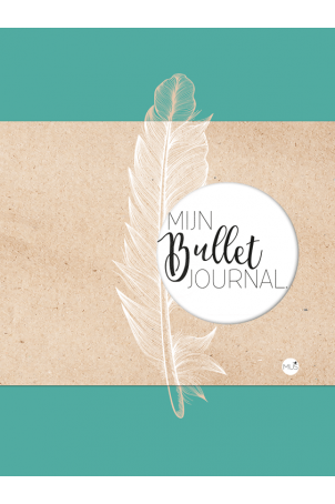 Mijn bullet journal feather