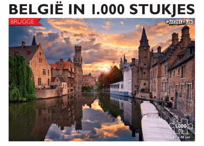 Legpuzzel Brugge 1000 stukjes