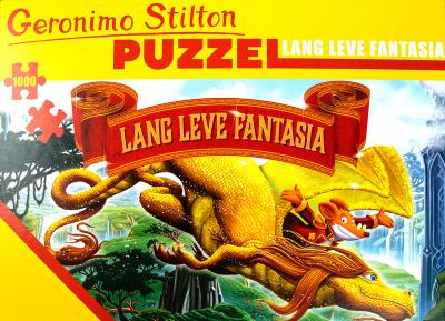 Legpuzzel Geronimo Stilton - Lang leve Fantasia 1000 stukjes
