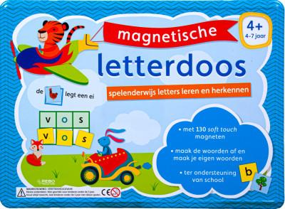 Magnetische letterdoos