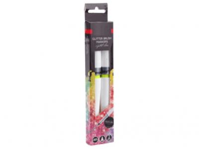 Nassau Glitter Brush Markers 2st