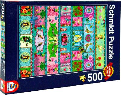 Schmidt 500 puzzel Quilt