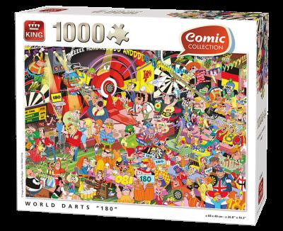 "Puzzel World darts ""180"""