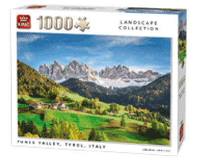 Legpuzzel funes valley 1000 PCS