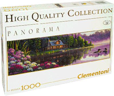 Legpuzzel Naast stilstaand water (Clementoni) 1000 stukjes