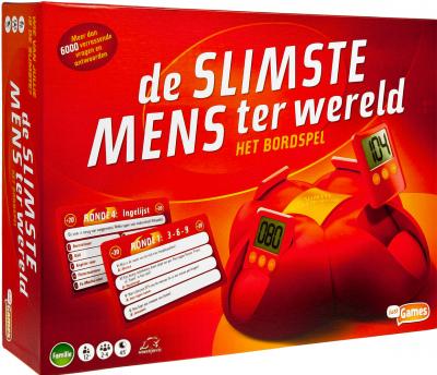 De Slimste Mens Ter Wereld Bordspel Familie Bordspellen Spel Puzzel Boekenvoordeel
