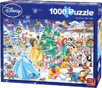 Legpuzzel Disney Winterwonderland 1000 stukjes