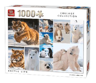 Puzzle Arctic Life (Collage collection) 1000 pcs
