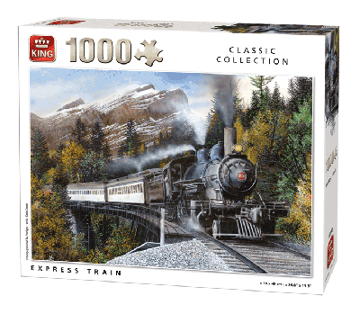Puzzle Express train (Classic Collection) 1000 pcs