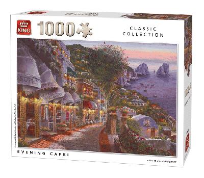 Legpuzzel Evening Capri (Classic Collection) 1000 pcs