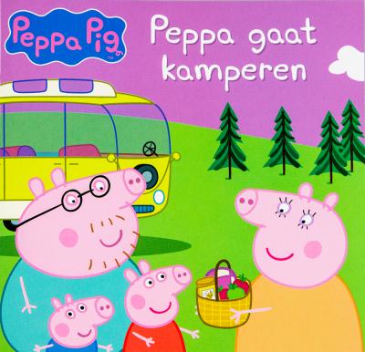 Peppa Pig leesboekje - Peppa gaat kamperen
