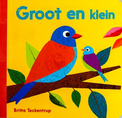 Kartonboekje Groot en Klein