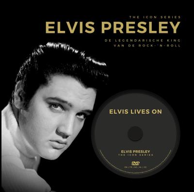 The Icon Series: Elvis Presley (boek+dvd)