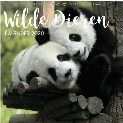 Kalender 2020: Wilde dieren