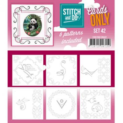 Stitch & do cards only set 42