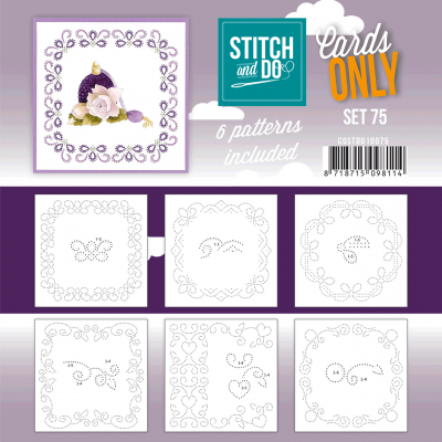 Stitch & Do cards only set 075