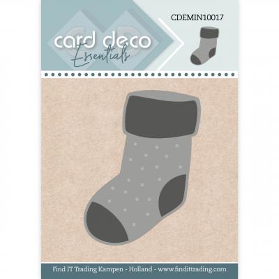 Card Deco Essentials mini snijmal kerstsok