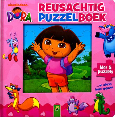 Dora Reusachtig puzzelboek