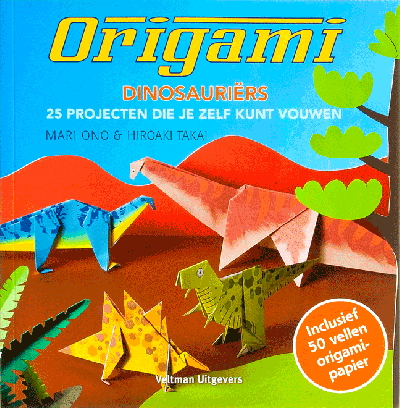 Origami: Dinosauriers