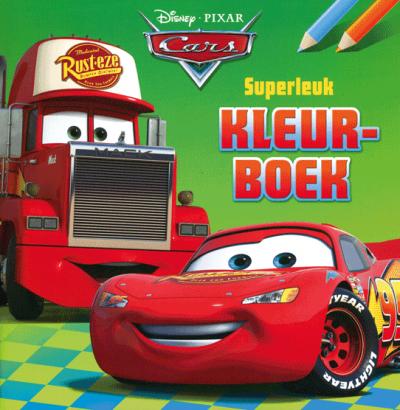Cars Superleuk Kleurboek