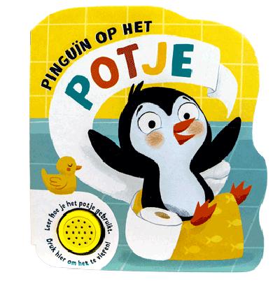 Pinguin op het potje - Geluidenboek
