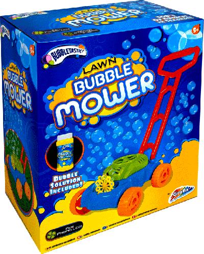 Bellenblaas grasmaaier (Bubble lawn mower)