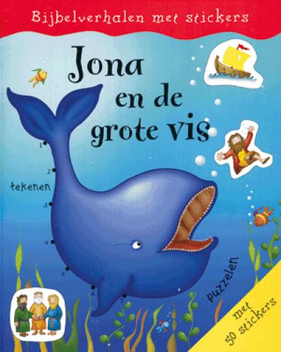 Bijbelverhalen Jona en de grote Vis