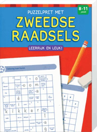 Puzzelpret met Zweedse raadsels (8 tot 11 jaar)