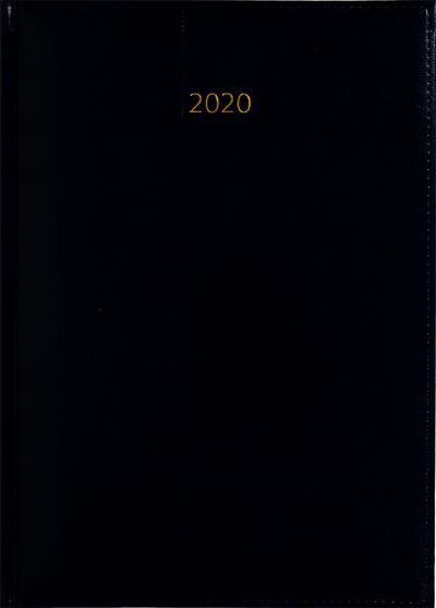 Weektimer agenda A5 2020 donkerblauw nr 202