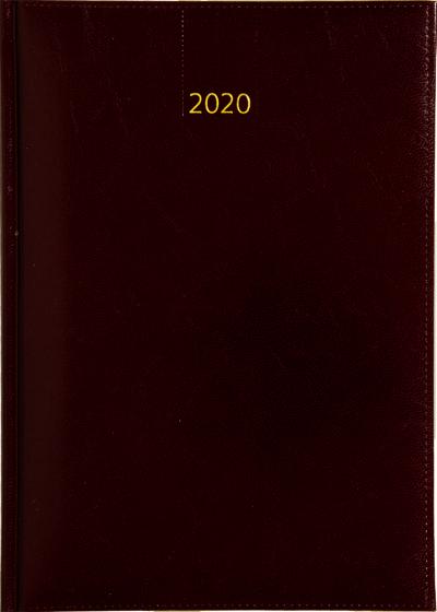 Business timer bureau agenda 2020 bordeaux nr 107 kleur 331