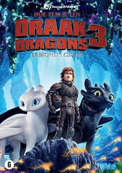 Hoe tem je een draak 3 - DVD