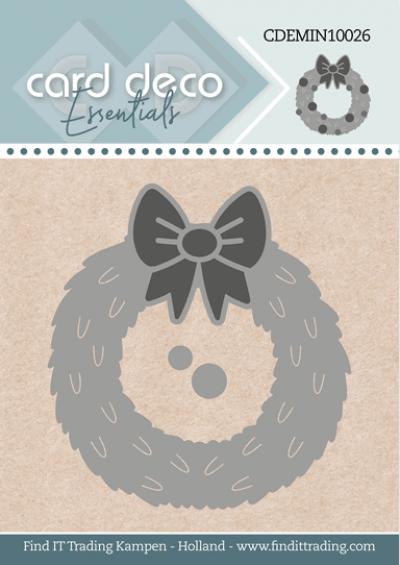 Card Deco Essentials mini snijmal Wreath