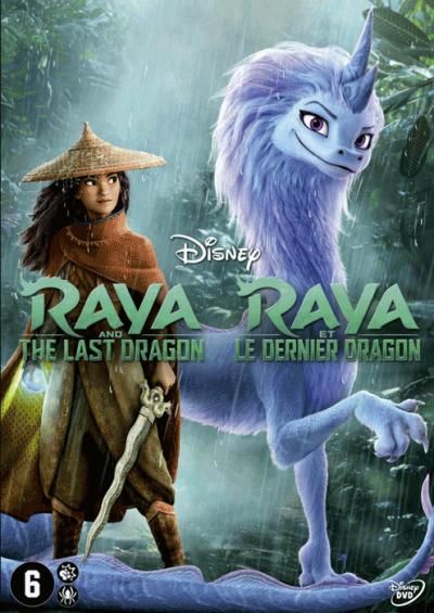 Raya En De Laatste Draak - DVD