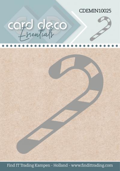 Card Deco Essentials mini snijmal Candy Cane