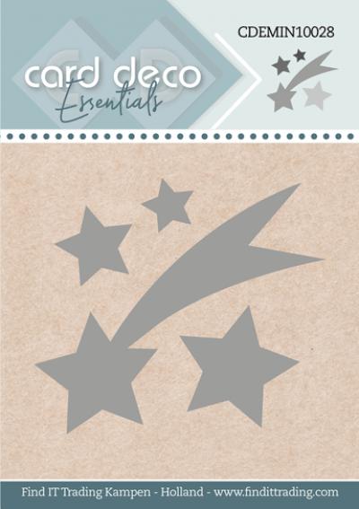 Card Deco Essentials mini snijmal Falling Star