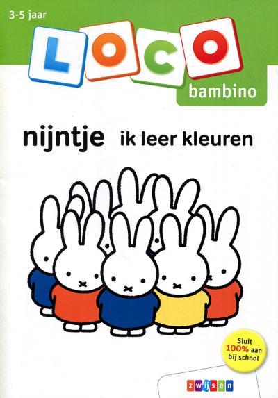 Loco Bambino Nijntje, ik leer kleuren