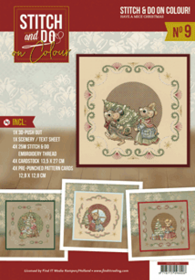 Stitch & do on colour 009 Have a mice Christmas