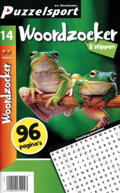 Puzzelsport 96 p. woordzoeker 2 stippen nr. 014