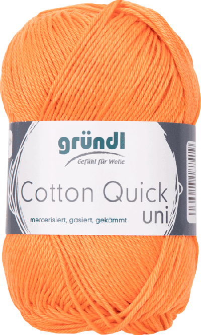 Cotton Quick Uni 146 ORANJE 50GR