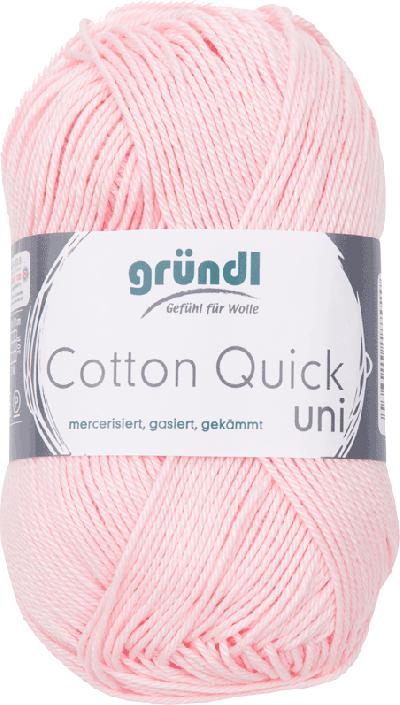Cotton Quick Uni 133 LICHT ROZE 50GR
