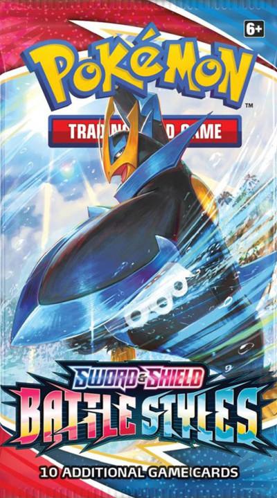 Pokémon TCG - Sword & Shield 5 Battle Styles - Booster pack